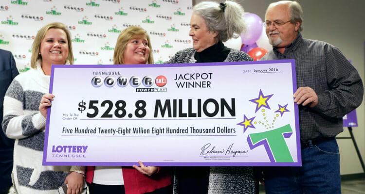 Самые большие выигрыши в американские лотереи - $1,589 миллиарда