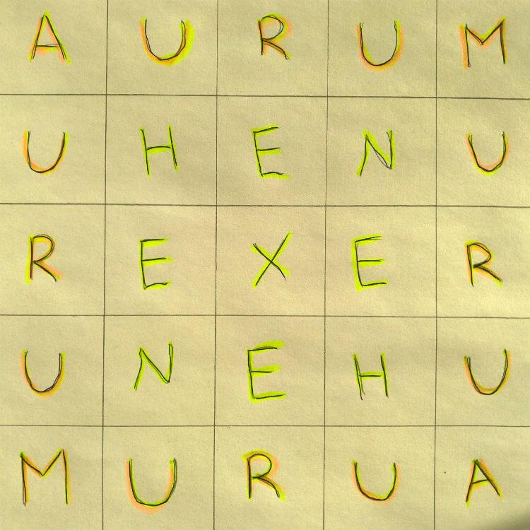 Заговор на выигрыш в лотерею - квадрат AURUM