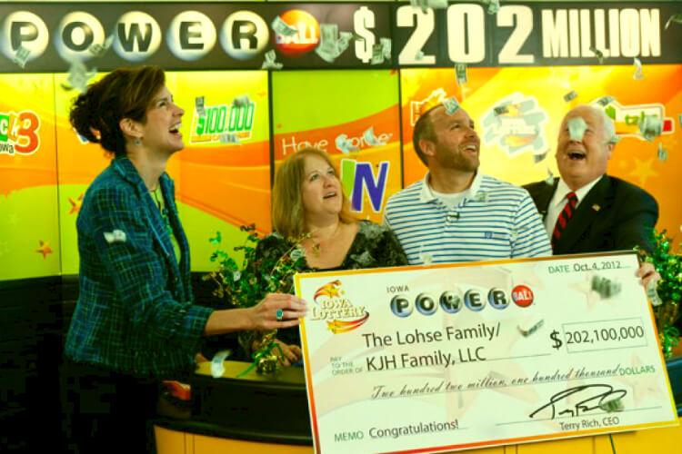 Победители в лотерею - Брайан и Мэри Лос