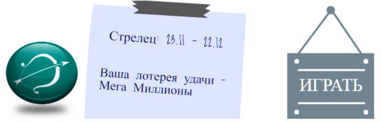 Лотерейный гороскоп. Стрелец (с 23 ноября по 21 декабря)
