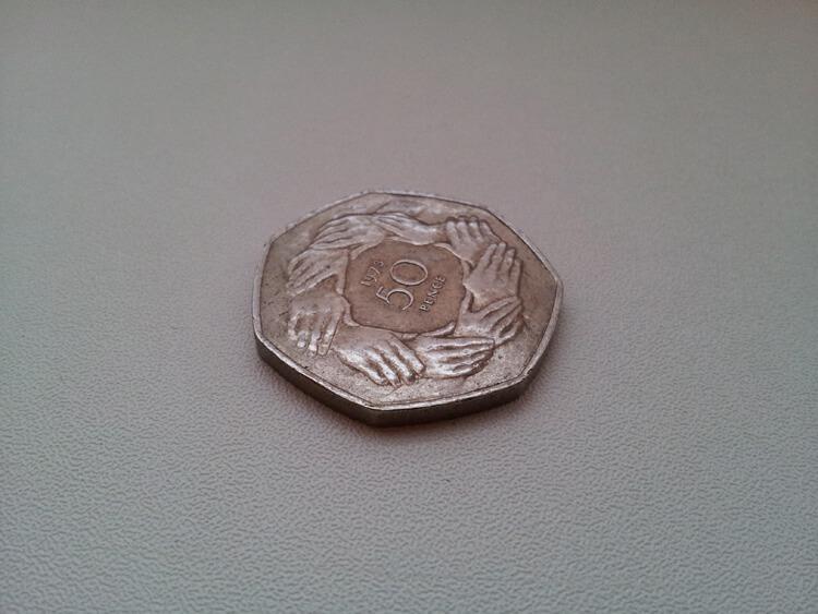Обряд на выигрыш в лотерею с использованием монет