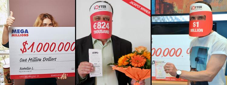 Очередной счастливчик выиграл в лотерею на TheLotter!