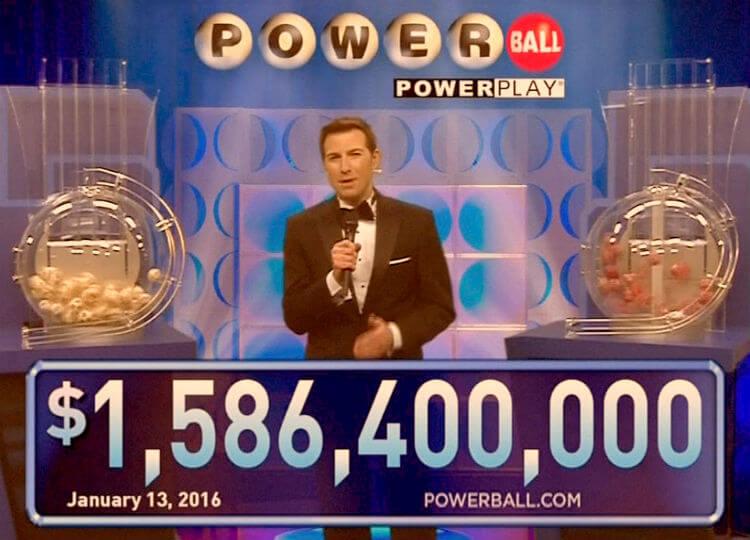 Самые большие выигрыши в лотерею. Лотерея Пауэрболл