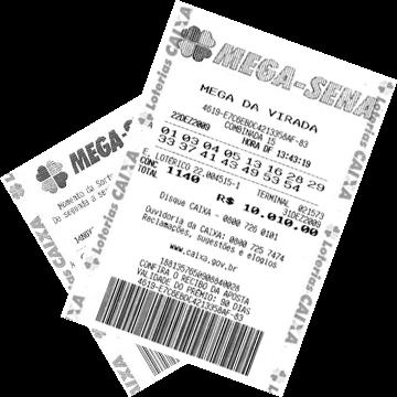 Билет лотереи Mega-Sena