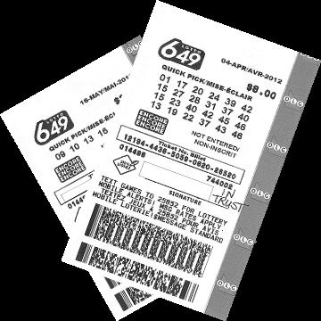 Билет лотереи Lotto 649