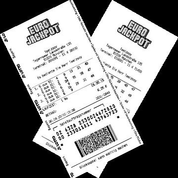 Билет лотереи EuroJackpot