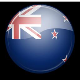 Флаг New Zealand