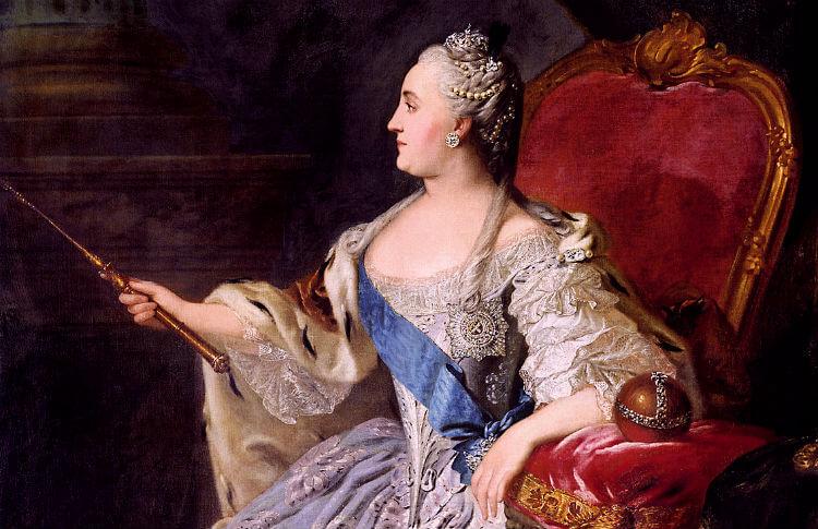 10 фактов о лотерее - Екатерина II