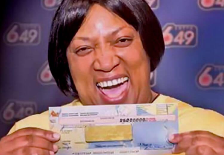 9 лотерейных неудач. Эвелин Адамс