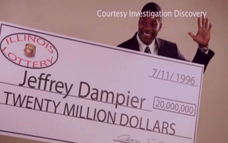 9 лотерейных неудач. Джеффри Дампьер