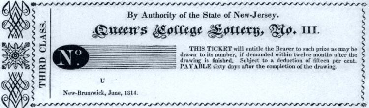 История американских лотерей - 1814 год