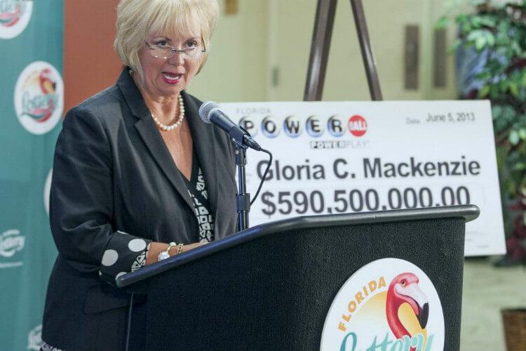 Самые большие выигрыши в лотереи США - $590,5 миллиона