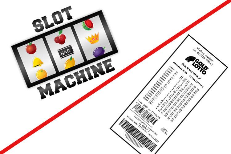 Игровые автоматы VS Лотереи