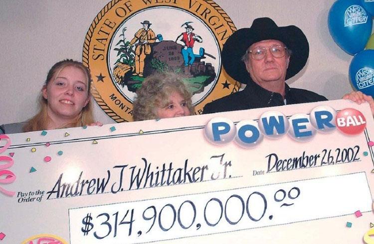 Эндрю Уиттакер выиграл 314,9 миллионов долларов