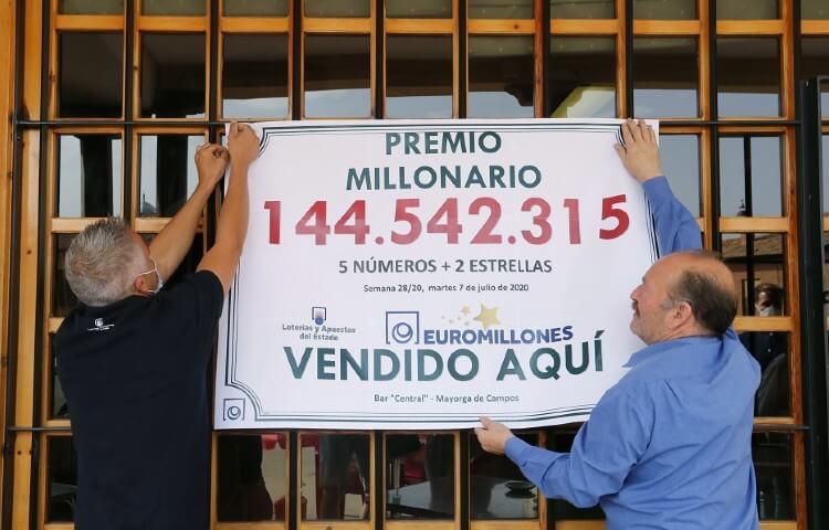 Синдикат из 14 человек выиграл €144 миллиона