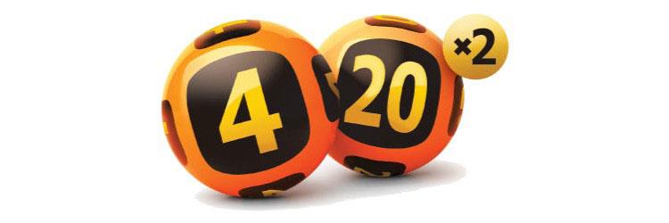 Логотип «Гослото 4 из 20»
