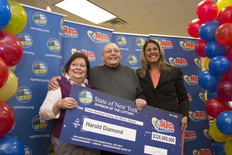 Harold Diamond - победитель лотереи Mega Millions