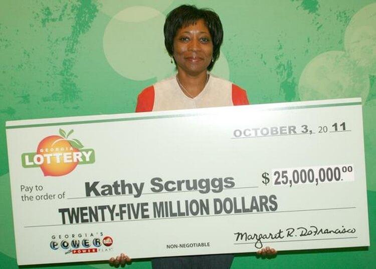 Люди выигравшие в лотерею