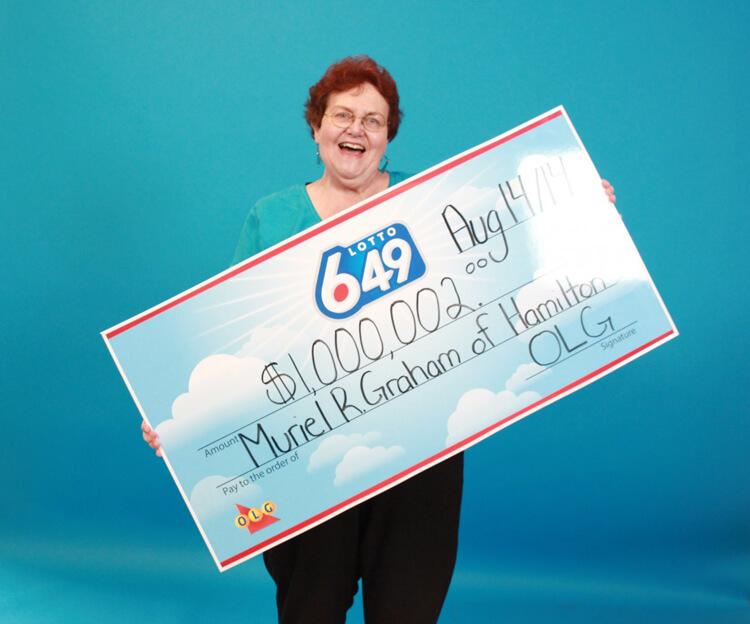 Выигрыш 1 миллион долларов в лотереи Lotto 649