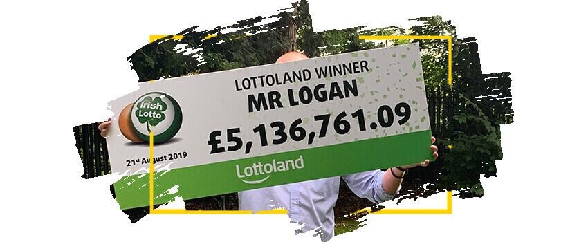 Счастливчик, выигравший на Lottoland 5 миллионов фунтов в 2019 году