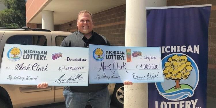 Американец выиграл 2 джекпота за 3 года