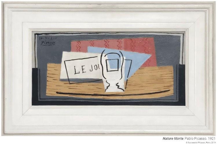 Главный приз лотереи: картина «Натюрморт» Пабло Пикассо.