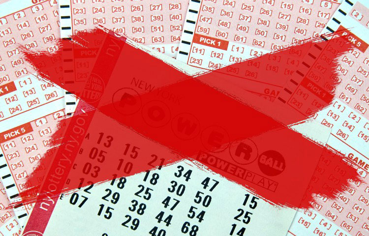 В США хотят остановить работу лотерей