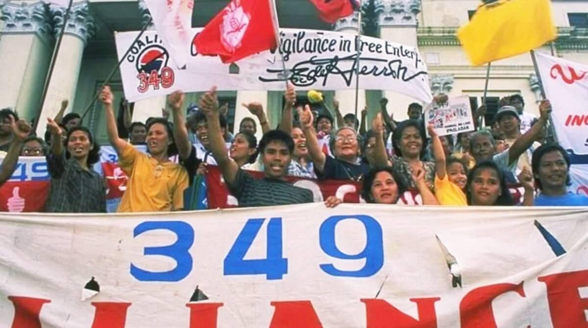 Акция протеста Альянса 349
