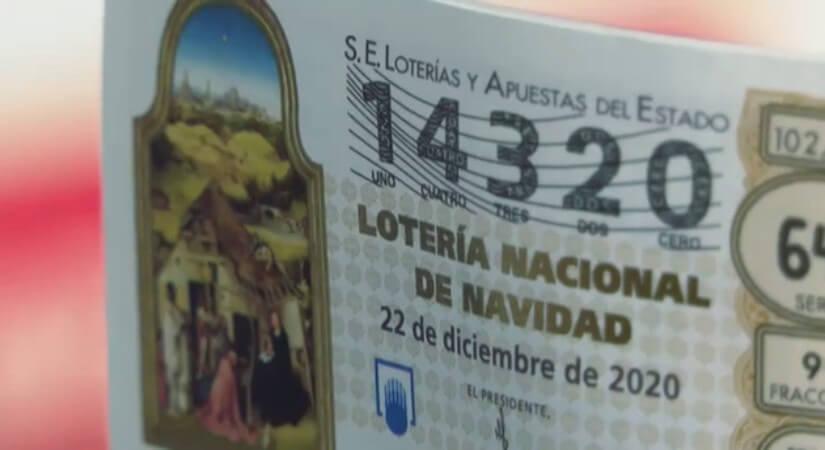 В Испании билеты с номером 14320 раскуплены полностью