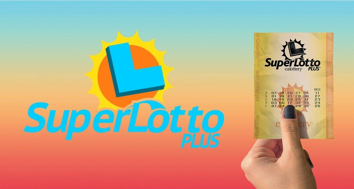 Билет лотереи SuperLotto Plus