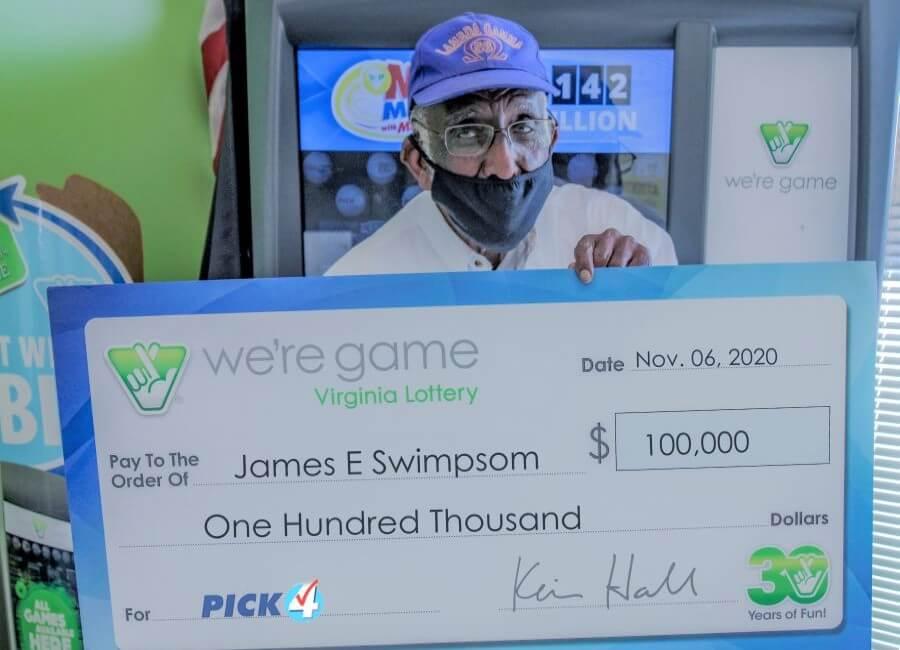Игрок из США выиграл 20 главных призов в лотерею за один раз