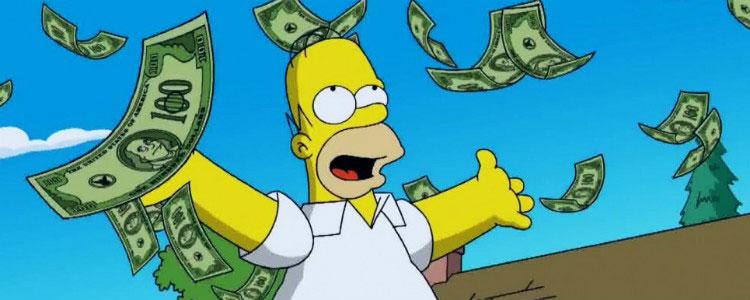 9 фильмов о лотерейном выигрыше - Симпсоны
