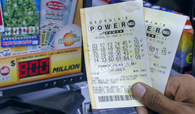 Билеты и размер джекпота американской лотереи Powerball