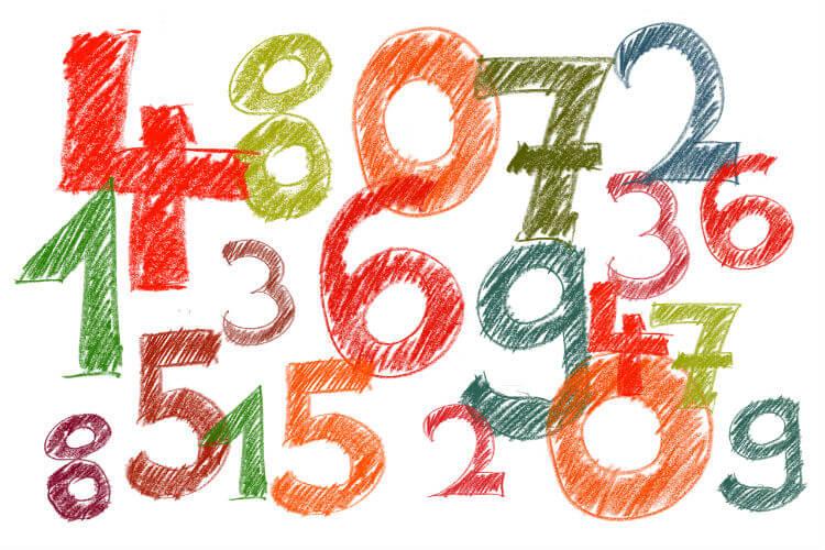 Популярные числа для лотереи