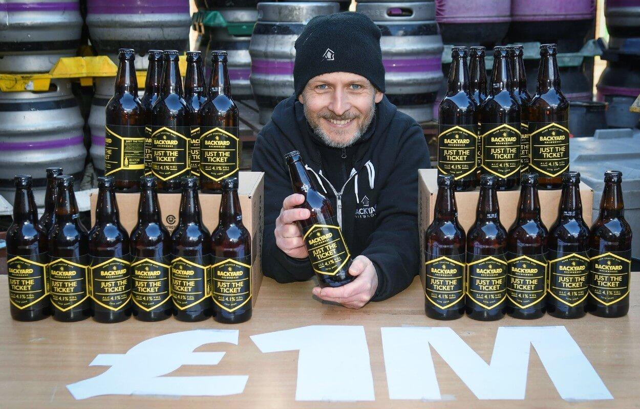 EuroMillions UK ищет победителя с помощью пива