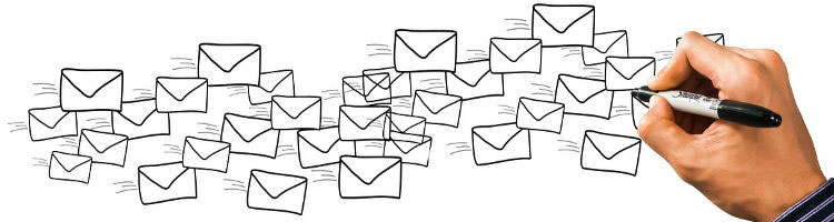 Лотереи по электронной почте