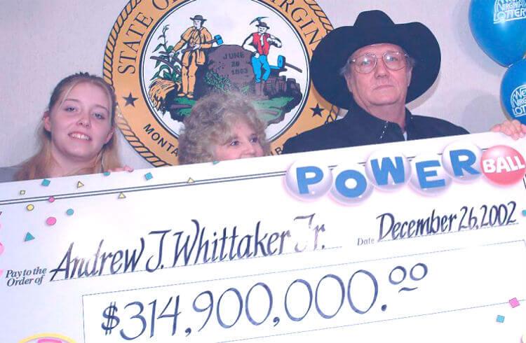 Самые большие выигрыши в лотерею. Джек Уиттакер