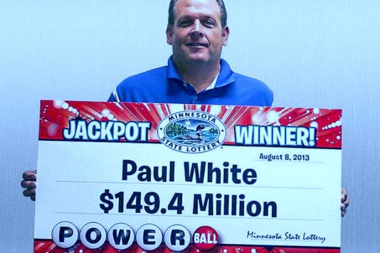 Самые большие выигрыши в лотерею. Пол Уайт