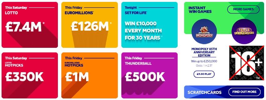 В Британии ужесточают продажу лотерей