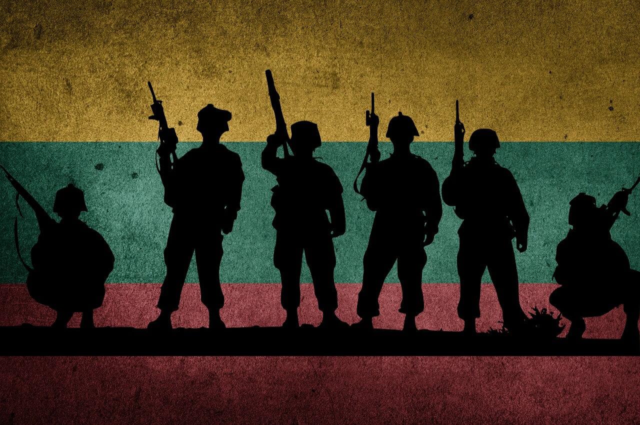 В Литовскую армию попадают по результату лотереи