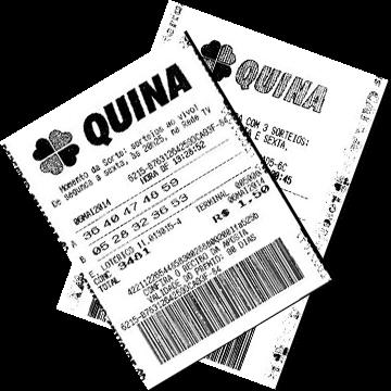 Билет лотереи Quina