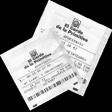 Билет лотереи El Gordo