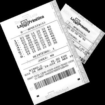 Билет лотереи La Primitiva